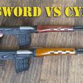 Real Sword vs Cyma SVD – Levegős rész összehasonlítás