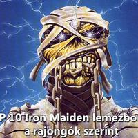 TOP 10 Iron Maiden lemezborító a rajongók szerint