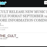 The Cult - Szeptember 14-én érkezik a Capsule