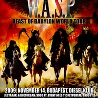 Szombaton W.A.S.P., vasárnap Isis