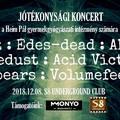 Szombaton jótékonysági koncert az S8-ban