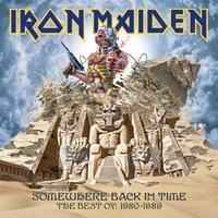 Iron Maiden válogatás lemez májusban