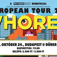 Szaftos noise rock paradicsom - Októberben Budapesten a Whores.
