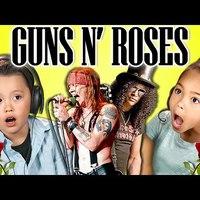 Így reagálnak a gyerekek a Guns N' Roses zenéjére