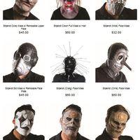 Vegyél Slipknot-maszkot Halloweenre