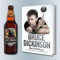 Bruce Dickinson-könyv és Iron Maiden-sör