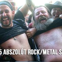 TOP 25 abszolút rock/metal sláger