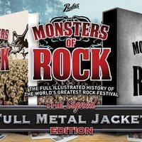 Könyv jelenik meg a Monsters Of Rock fesztiválról