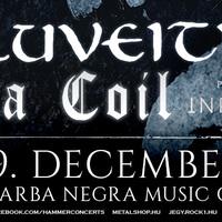 Eluveitie, Lacuna Coil, Infected Rain - Erős hármas csomag jön Budapestre