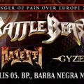 Gyze (JAP), Majesty (GER), Battle Beast (FIN) @ Barba Negra, 2017. április 5.