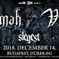 2018. december 14-én Kalmah / Vreid / Slegest koncert a Dürer Kertben