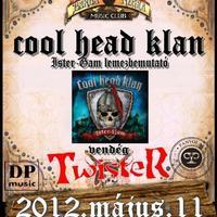 Cool Head Klan lemezbemutató a Barba Negrában, vendég: Twister