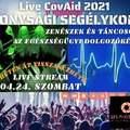Live CovAid 2021 online segélykoncertek