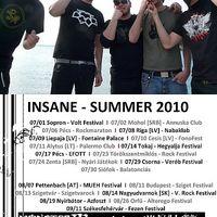 Insane - Klip és nyári turné