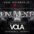 Budapestre is elhozza az új albumát a Monuments!