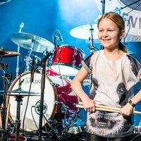 Egy 10 éves doboslány nyerte a dán tehetségkutatót