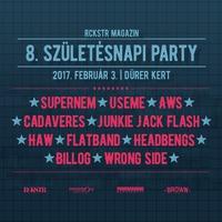 Rockstar VIII. Születésnapi Party a Dürer Kertben