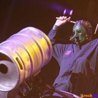 Beperelte zenésztársait a Slipknot ütőse, Chris Fehn