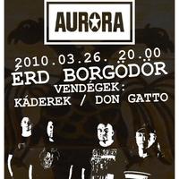 Az Aurora Érden [KONCERTAJÁNLÓ]