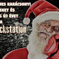 Kellemes Karácsonyi Ünnepeket és Boldog Új Évet kíván a RockStation