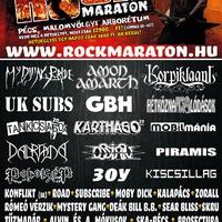 Fesztivál körkép 2009, Rockmaraton (Pécs, Malomvölgyi Arborétum)