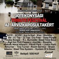 Jótékonysági Tribute Fesztivál az árvízkárosultakért