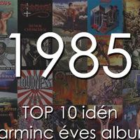 TOP 10 idén 30 éves rock/metal album