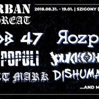 Tizenhét zenekar és két este a veszprémi Szigonyban - Urban Threat Fest #1