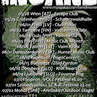 Insane - Európa turné