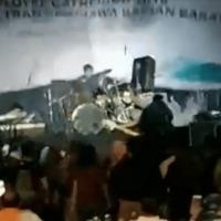 Cunami csapott le egy indonéz fesztiválra