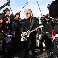 Megvolt a Metallica antarktiszi koncertje