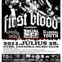First Blood koncert Győrben!