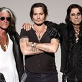 David Bowiet játszott James Cordennél a Hollywood Vampires