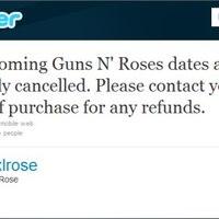 Guns N' Roses - Turné törölve vagy mégsem?