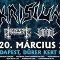 Krisiun koncert a Gruesome és a Vitriol társaságában jövő tavasszal