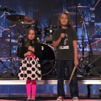 A kis deathmetal duó újra az America's Got Talentben