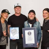 Guinness-rekorder lett a Metallica