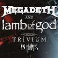 Az év turnéja helyett az év streamje - Közös videóban a Megadeth, a Lamb Of God, a Trivium és az In Flames korábbi bulijai