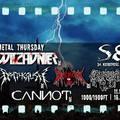 Heavy-speed-thrash és black metal blasfemikus örvénye