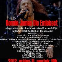 A világ legnagyobb Diójára emlékeztünk @ Dio emlékest, PECSA Music Hall, 2012. május 11.