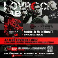 Megjelent az első LOVRECK nagylemez!