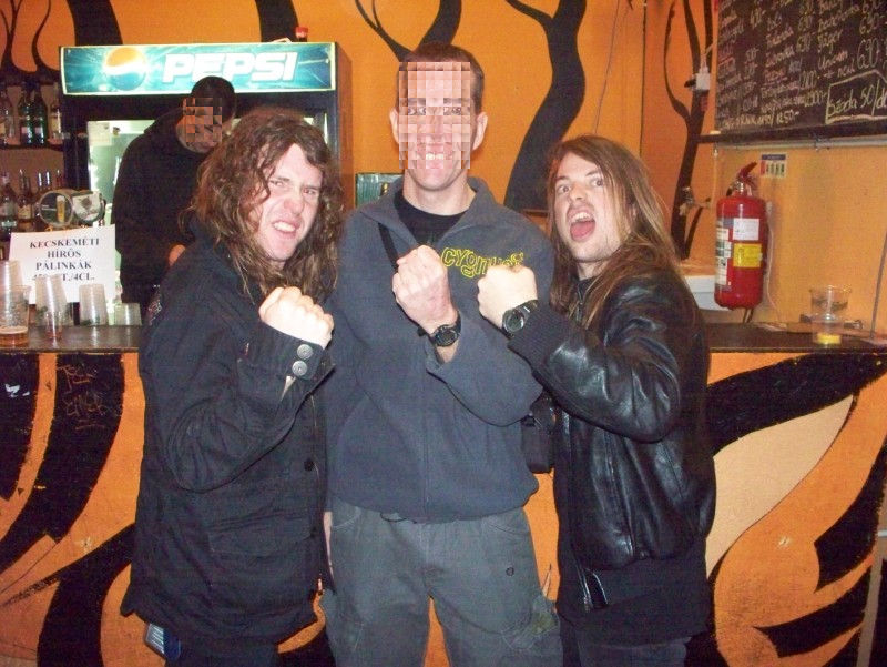 Airbourne photo with a fan