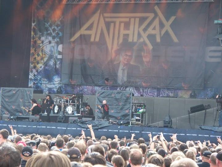 Anthrax @ Sonisphere Festival, Letiste Milovice 2010.06.19