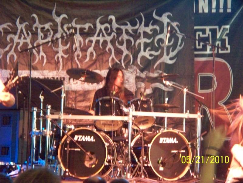Decapitated @ Metalfest 2010, Budapest