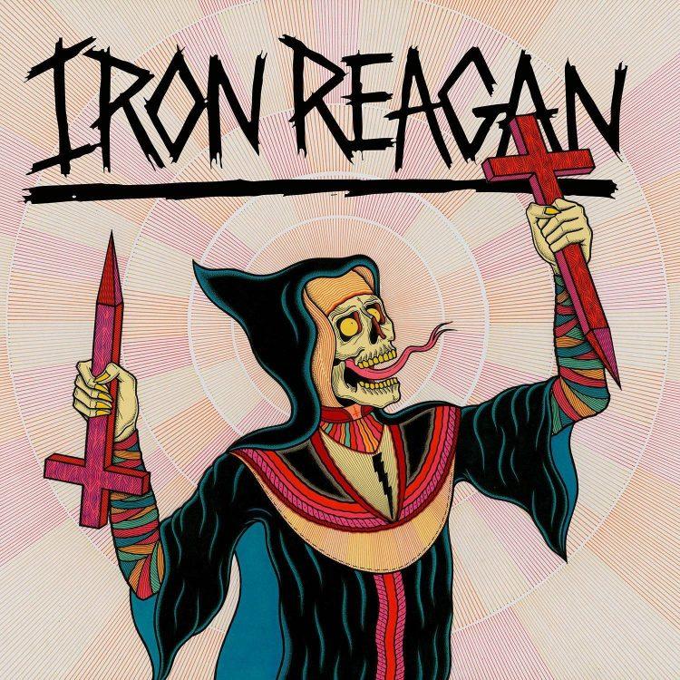 IRON REAGAN - CROSSOVER MINISTRY<br />A Municipal Waste oldalhajtásaként alakult Iron Reagan már a harmadik albumát jelentette meg. A Tony Foresta vezette crossover brigád lemezei nem nélkülözik a humort se, bár ez más zenekarainál is így volt.
