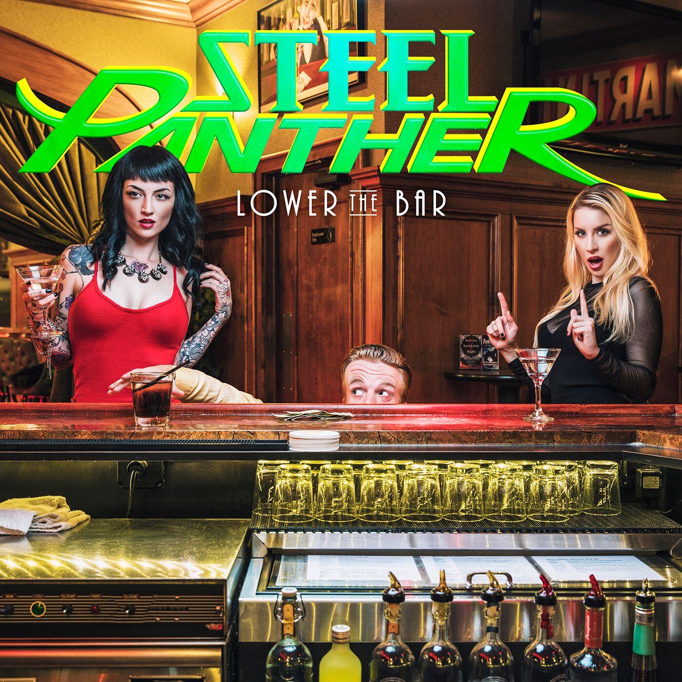 Steel Panther - Lower The Bar<br /><br />Az önmagukat sem komolyan vevő amcsi glamsterek új lemeze a hónap vége felé lesz majd hivatalosan elérhető, de annyit már most elmondhatunk róla, hogy a Lower The Bar semmit nem enged majd a megszokott színvonalból!