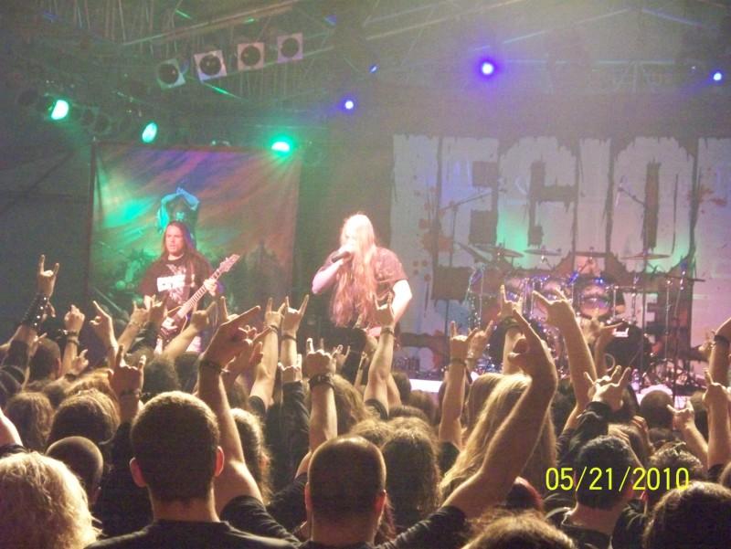 Legion Of The Damned @ Metalfest 2010, Budapest