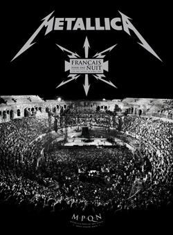 Metallica - Francais Pour Une Nuit DVD cover