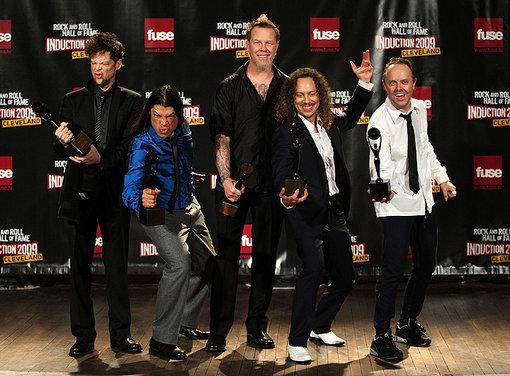 Metallica Hall Of Fame 2009