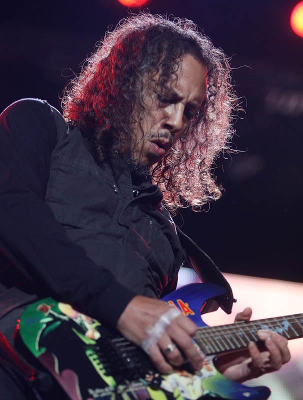 Kirk Hammett (METALLICA) @ Budapest, Puskas Stadion 2010.05.14. - photo: Zsolt Reti